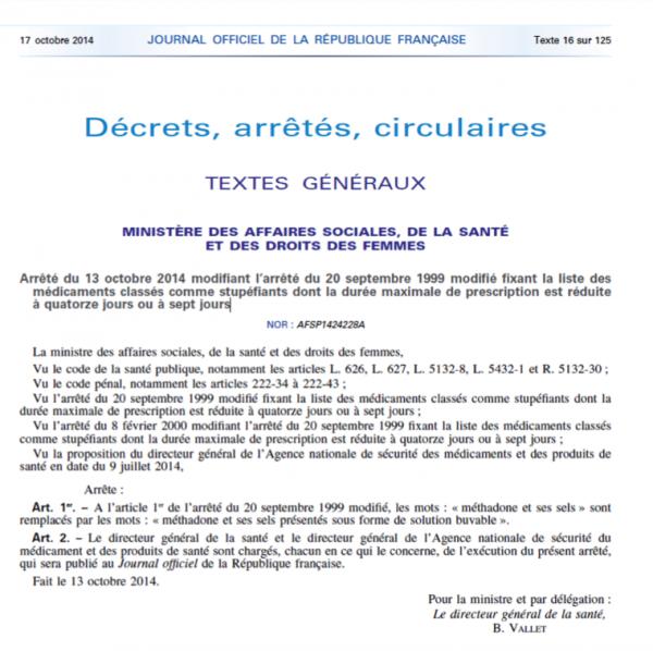 Accès Journal officiel